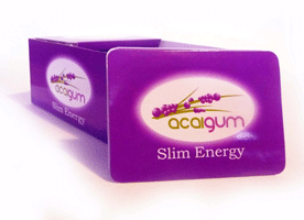 Wholesale Acai Slim Energy Gum
