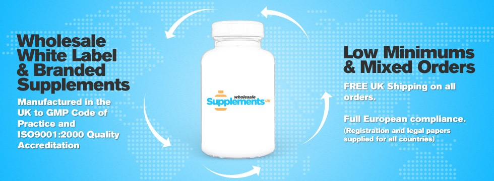 Wholesale Supplements and Private Label Vitamins for UK & Europe